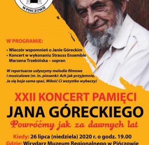 Koncert Pamięci Jana Góreckiego