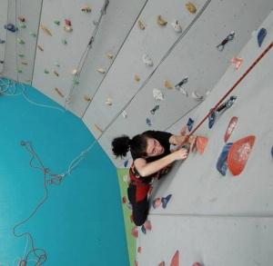 Ścianka wspinaczkowa w Pińczowie