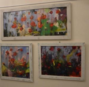 Wystawa malarstwa Norberta Palmera