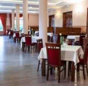 Restauracja w hotelu nad Starą Nidą
