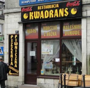 "Restauracja ""KWADRANS"""