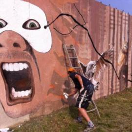 Pińczów wita… muralem