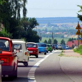 Trabantowy zlot w Pińczowie