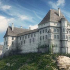 Wizualizacja zamku w Pińczowie